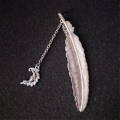 Moon Leaf Fishtail Bookmark Feather Bookmarks Luminous Night  Glow in the Dark Y