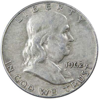1962 D Franklin Half Dollar About Uncirculated