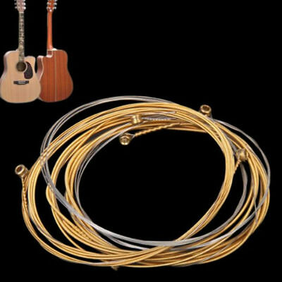 A Set of 6 Guitar Strings Replacement Classic Guitar Strings for Acoustic Guitar