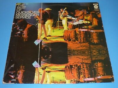 """The Best Of Quicksilver Messenger Service""-Record Album Lp-Netherlands Import"