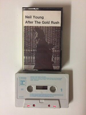 Neil Young - After The Gold Rush (Reprise Records, 1970) cassette tape