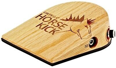 Ortega Horse Kick Digital Guitarist Stomp Box with Cajon Bass Sample - HORSEKICK