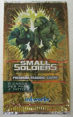 Small Soldiers Empty Trading Card Wrapper          Abc