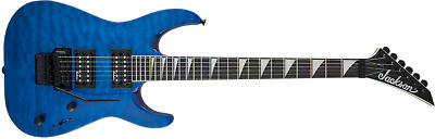 Jackson JS Series JS32Q Arch Top Dinky Trans Quilt Blue Electric Guitar - Demo