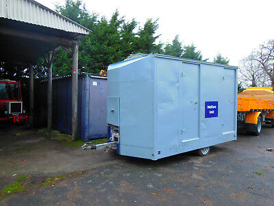 Welfare Pod Unit for Building Site Office with Toilet Generator Room and Canteen