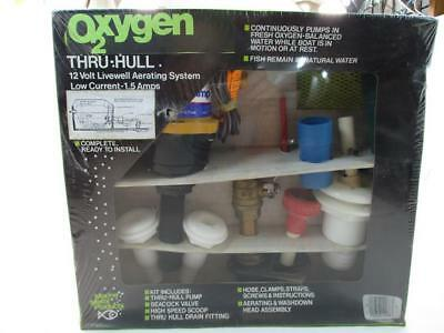 Marine Metal OX2 Oxygen Thru-The-Hull Livewell Aerator Kit 22346