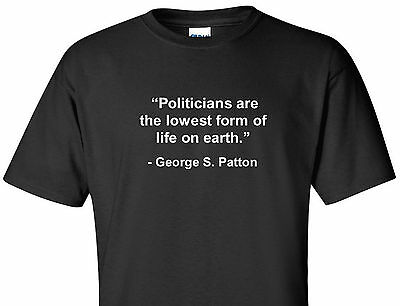 George S. Patton Quote T-Shirt Politicians World War 2 Wwii General Tee Shirt