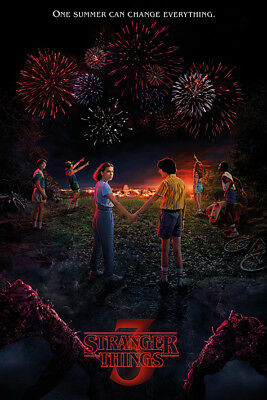 Stranger Things (One Summer)  Maxi Poster PP34464 size 91.5 x 61cm