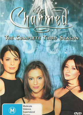 Charmed - The Complete Third Season - 6-Disc DVD - Region 4 - Paramount - VGC