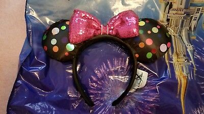 Disney Theme Parks Minnie Mouse Inspired Ears Headband - Rock the Dots 2019