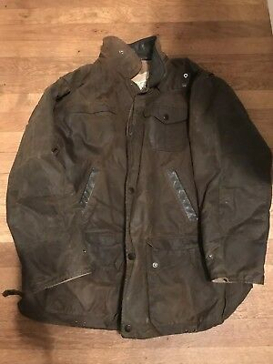 Backhouse By Barbour Mens Large Wax Jacket