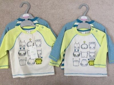Boots Mini Club Baby Tops 6-9 Months - Brand New