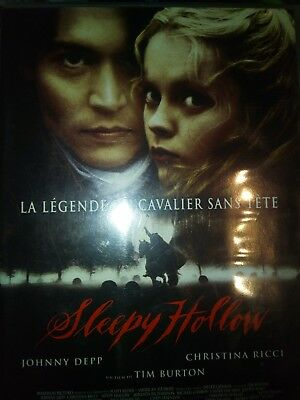 DVD SLEEPY HOLLOW de TIM BURTON avec JOHNNY DEPP, CHRISTINA RICCI.