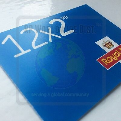 100x 2nd Class Postage Stamps NEW GENUINE SelfAdhesive Stamp GB FAST POST Second