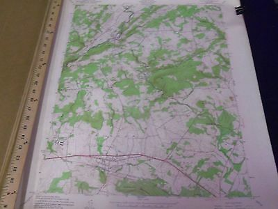 1950'S U.s. Dept. Of Interior & Army Engineers New Jersey Map Lot Of 21 - O 3F