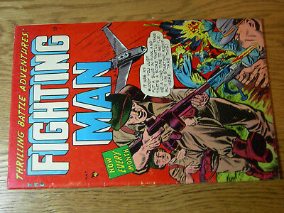 Fighting Man #7 F Farrell Great Battle cover