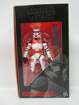 Hasbro Star Wars Black Series Order 66 Coruscant Clone Guard Exclusive New