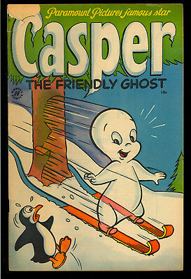 Casper the Friendly Ghost #8 Very Nice Early Harvey File Copy Comic 1953 VG-