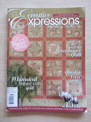 Creative Expressions with Jenny Haskins #23~Quilts~Bag~Pillows~Mobile~