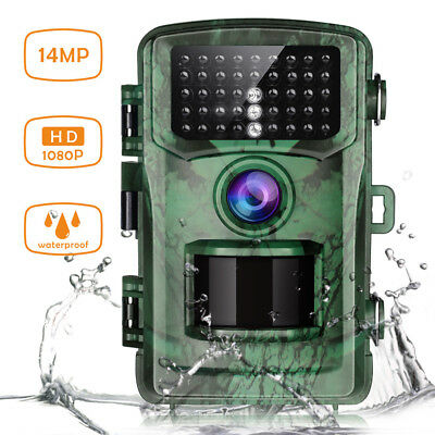 TOGUARD Trail Camera 14MP 1080P Game Wildlife Hunting Cam NightVision Waterproof
