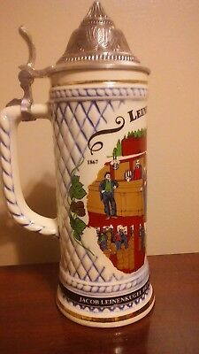 1992 Leinenkugel's 125th anniversary limited edition stein