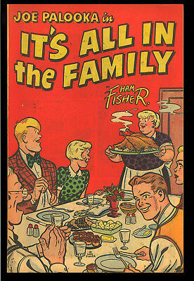 Joe Palooka in It's All in the Family #nn Harvey File Copy Giveaway 1945 FN-VF