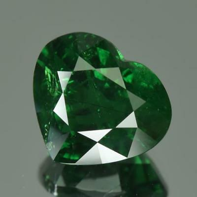 4.04 cts GRS Certified 100%Natural Vivid Green Color Unheated Tsavorite Garnet