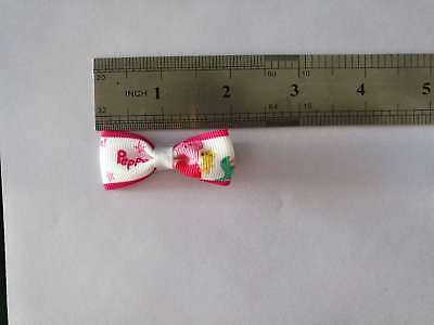 """100 BLESSING Good Girl 2"""" Hair Bow Clip Piggy Page Rhinestone Baby"""