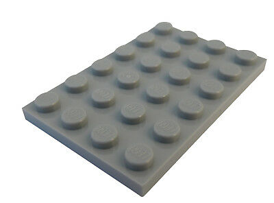 LEGO Parts 10 x Plate 1 x 3 DARK BLUISH GREY 3623 P19