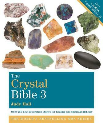 The Crystal Bible 3: Godsfield Bibles by Judy Hall Paperback Book Free Shipping!