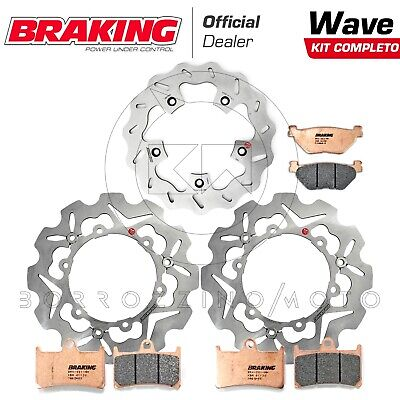 Braking Complete Set Discs Front Rear Pads Yamaha T-Max 530 2013