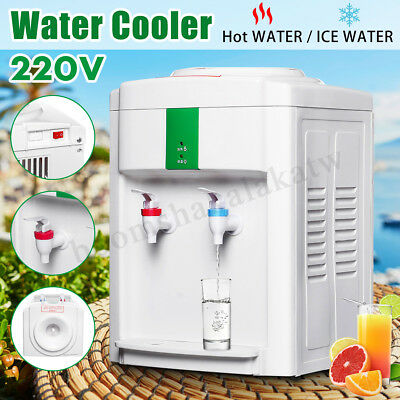 Electric Hot & Ice MIni Water Cooler Dispenser Table Top 3-5 Gallon Household