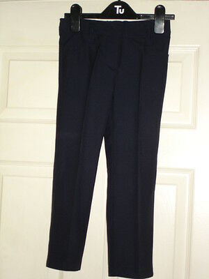 Boys Navy Blue Smart Trousers 3yrs BNWT Special Occasion Party
