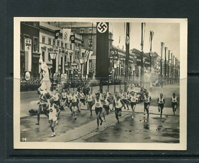 1936 Berlin Olympic Torch  Original Photo 7x9 sm