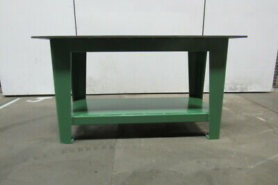 """H.D. 1/2"""" Thick Top Steel Fabrication Layout Welding Table Work Bench 60"""" x 30"""""""
