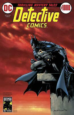 Detective Comics 1000 (Vol. 1) 1970's Variant B. Wrightson - SOFORT LIEFERBAR