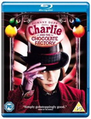 Johnny Depp, Freddie Highmore-Charlie and the Chocolate  (UK IMPORT) Blu-ray NEW