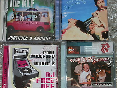 Midfield General –Bomb The Bass-The KLF -Paul Woolford And Howie B-job lot-dj