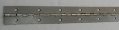 """Jefco 150SS72 72"""" Continuous Hinge 1.5"""" Wide Stainless Steel 19818"""