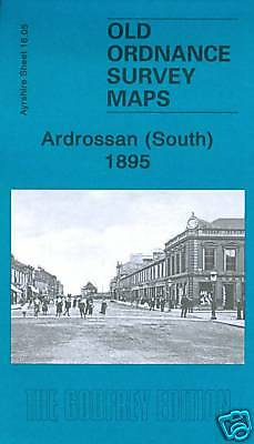 Old Ordnance Survey Map Ardrossan South 1895