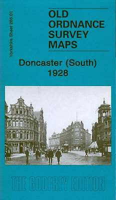 Old Ordnance Survey Map Doncaster (South) 1928