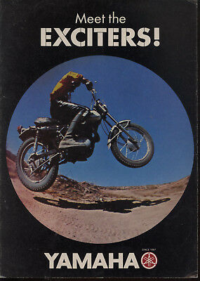 Genuine Original 1968 Yamaha Full Line Dealer Brochure (Non Magazine version)