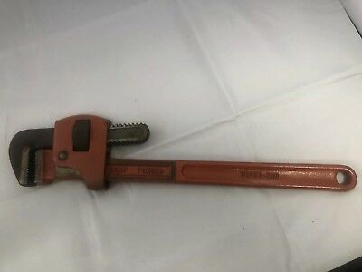 "Vintage 18"" Heavy Duty Super Ego Adjustable Monkey Wrench Drop Forged Spain"