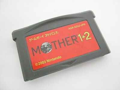 Game Boy Advance Mother 1+2 Earthbound Cero Nintendo Solo Cartucho Gbac