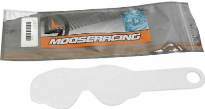 Moose Racing Moose Qualifier Goggle Tear Offs Clear 20 Pack