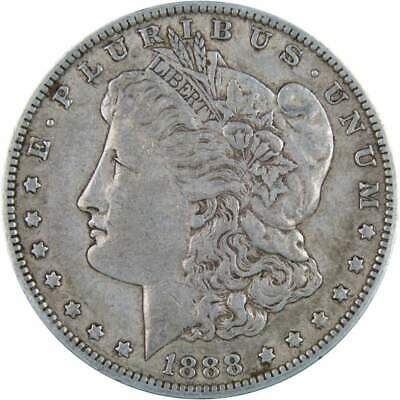1888 O $1 Morgan Silver Dollar US Coin VF Very Fine
