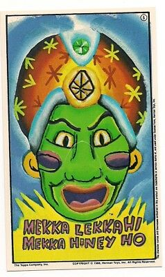 Pee-Wee's Playhouse Card Pee Wee Herman Topps 1988 Punch out Nose! JAMBI #5