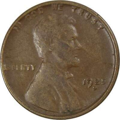 1925-D 1c Lincoln Wheat Cent Penny VF Very Fine