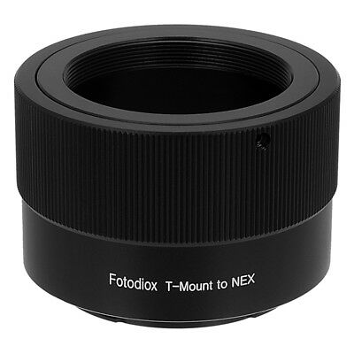 Fotodiox Lens Adapter T-Mount (T/T2) Lens to Sony E-Mount/NEX