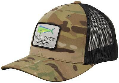 e8a9f043457 ... shop salty crew mahi mount retro trucker hat multicam green new 94683  5ac03